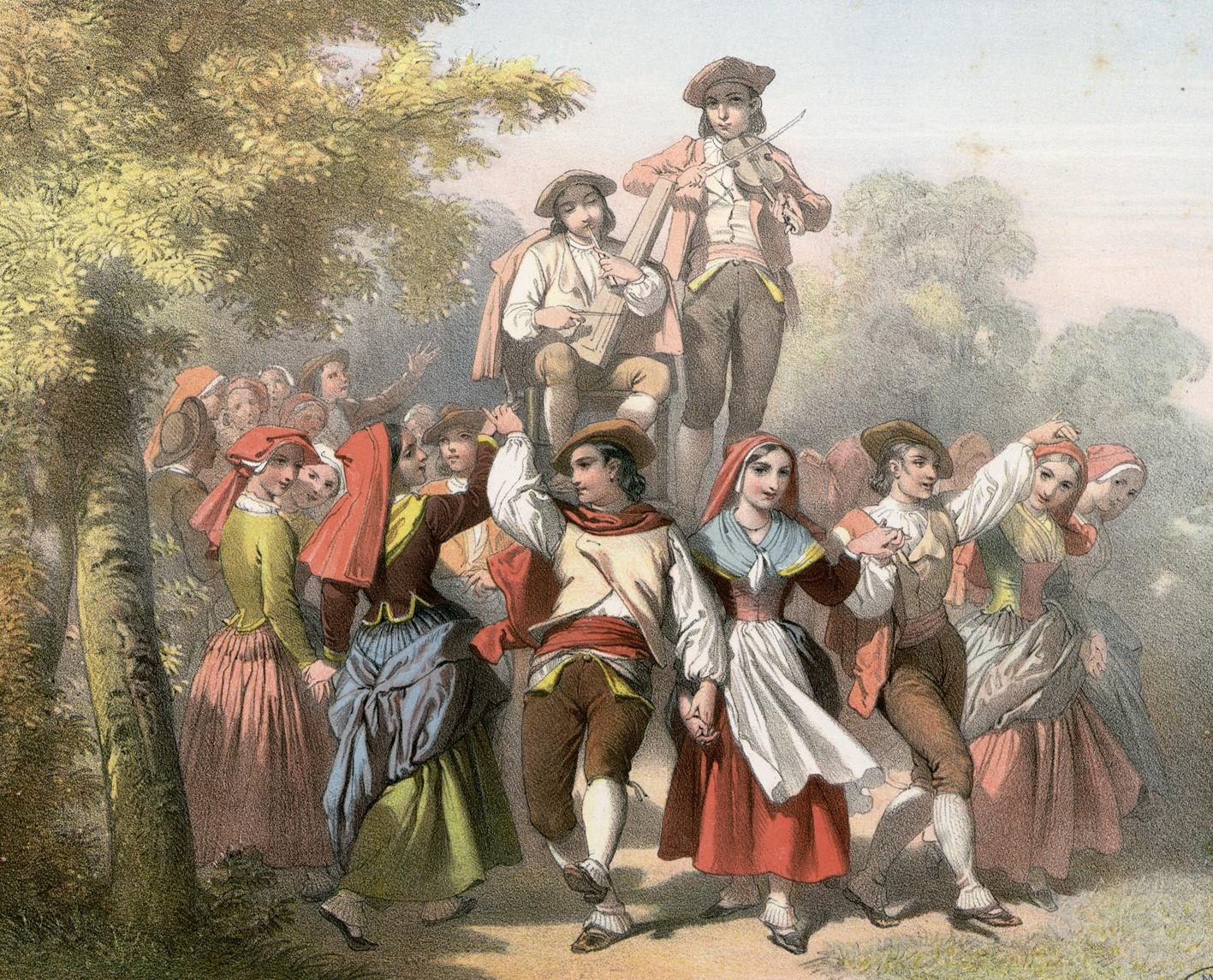 Jenis Tarian Yang Populer di Renaissance Prancis